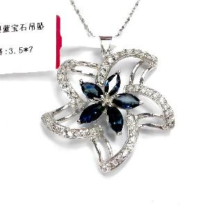 sterling silver sapphire pendant amethyst tourmaline ring bracelet pendan