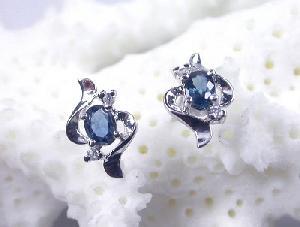 sterling silver sapphire stud earring amethyst citrine pendant ruby bracelet