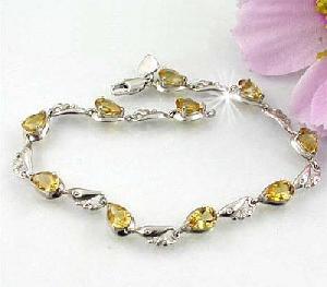 sterling silver topaz bracelet cz jewelry prehnite ring olivine pendant garnet