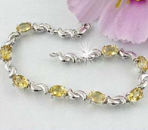 sterling silver topaz bracelet moonstone olivine amethyst ring pendant jewelry s