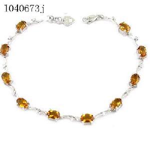 sterling silver topaz bracelet prehnite earring olivine ring garnet pendant ruby ri