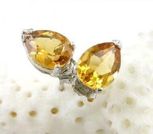 sterling silver topaz stud earring prehnite jadeite bracelet pendant ring