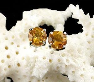 sterling silver topaz stud earring tourmaline ring garnet olivine bracelet