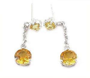 sterling silvernatural topaz drop earring tourmaline prehnite ring jadeite bracelet
