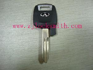 infinity transponder key blank