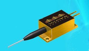 808nm 1 5w 2 pin fiber coupled laser diode module