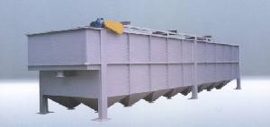 zcaf air flotation sewage decontamination clarifying machine pulp line cutter scree