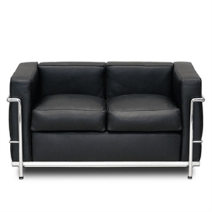 contemporary desgin loveseat sofa