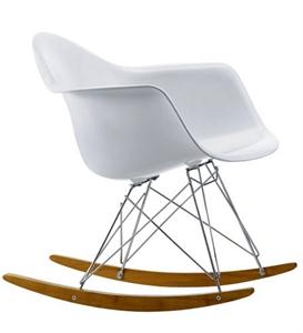 eames rar rocking chair fibergalss