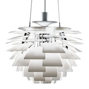 modern artichoke pendant light