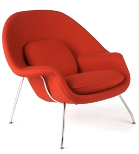 broche womb chair extremely close