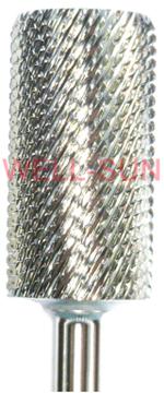barrel coarse carbide bit sliver