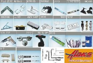 aluminum door window fittings