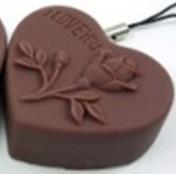 chocolate mobile phone strap