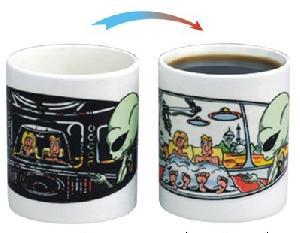 changing mugs heat sensitive