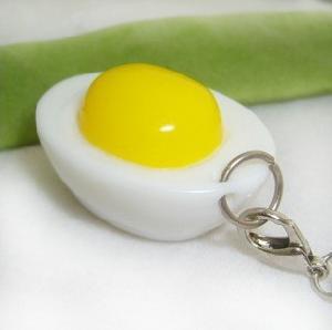 egg simulation mobile strap