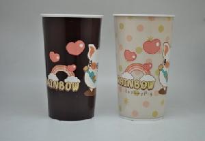 plastic changing mugs