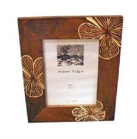 carved wood photo frame fm113 sm8765