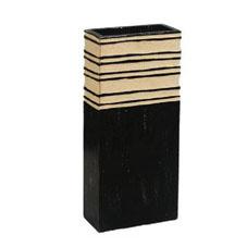engraved wooden vase vm029 raw2 baw