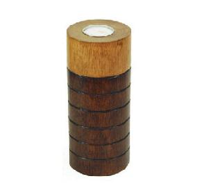 wood candle holder c459 cr03 eb lo