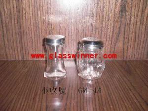 glass salt bottle