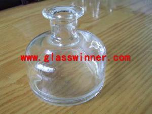 hand glass bottle