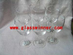 hand goblet glass