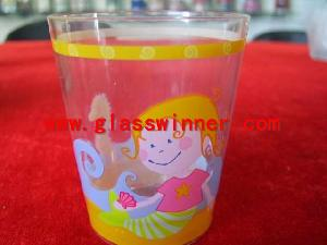 transfer glass cup