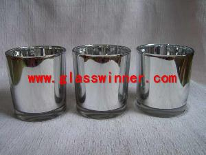 metallic glass silver