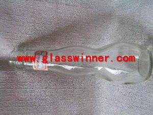narrow waist glass jar