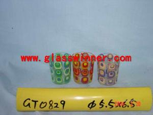 ornament glass cup