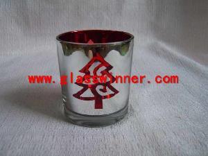 pine tree glass stand