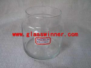 polished edge glass holder