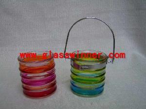 round glass catcher