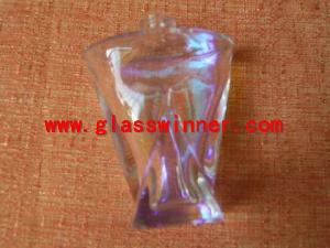 shining plating perfum bottle