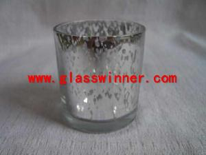 silver drop glass
