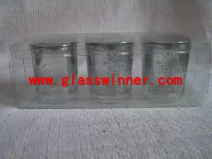 silver glass shining powder