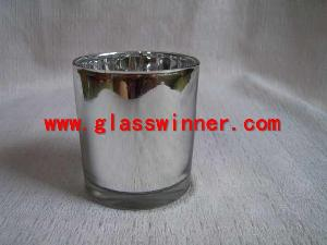silvering glass cup