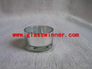 silvering tea light holder