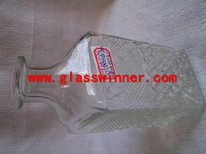 square glass jar 1