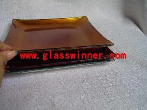 square glass plate 1