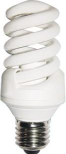 energy saving light cfl spiral compact lamp