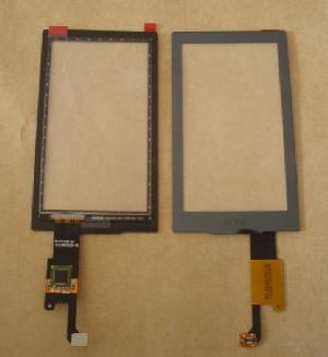 pda lcd microsoft zune hd digitizer touch screen