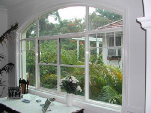 aluminium fixed window