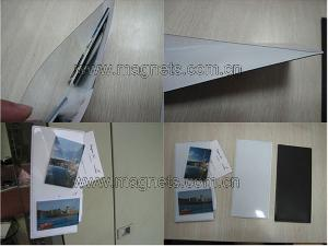 magnetic photo pocket card