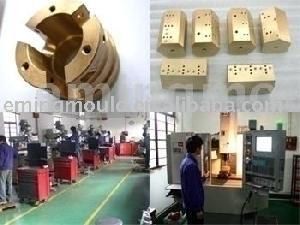 precisión partes de cobre