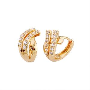18k gold plating brass cubic zirconia earring garnet ring bracelet