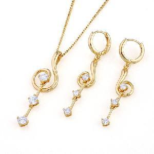 18k gold plating brass cubic zirconia jewelry silver prehnite citrine ri