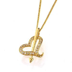 18k gold plating brass cubic zirconia pendant costume jewelry ring bracelet