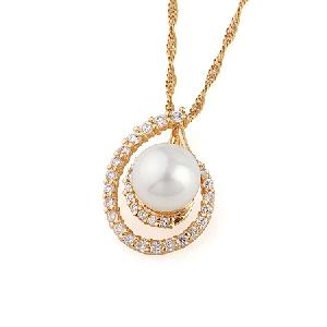 18k gold plating brass cubic zirconia pendant olivine ring gemstone jewelry